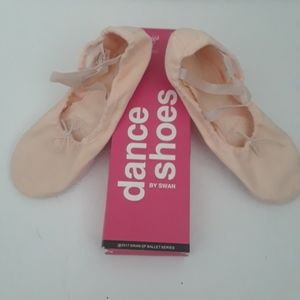 Swan Adult / Girl's Pink Ballet Shoes